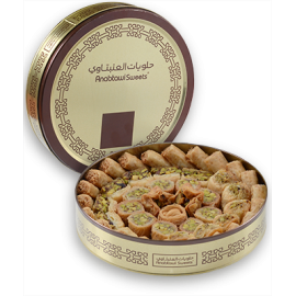 102402 - ASSORTED SWEETS PISTACHIO - SPECIAL 650g